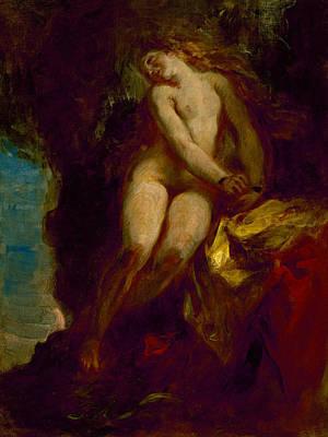 Andromeda Poster by Eugene Delacroix