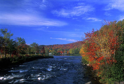 Androscoggin River Headwaters Poster by John Burk