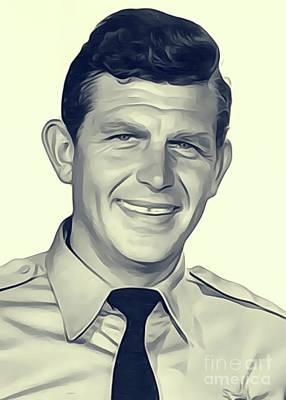 Andy Griffith, Vintage Actor Poster