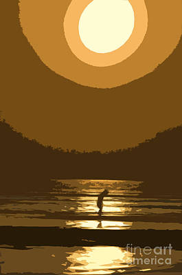 Andy's Sunset Poster by Jim  Calarese