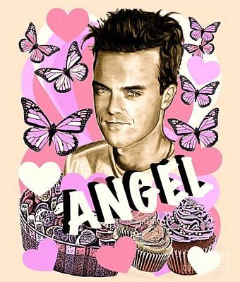 Angel Cupcake Poster
