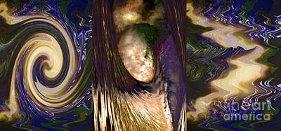 Angel Decending From Skies With Power N Lightening Abstract Concept Art Buy Prints Or Download Jpg F Poster