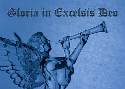 Angel Gloria In Excelsis Deo Poster by Denise Beverly