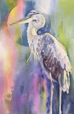 Angel Heron Poster