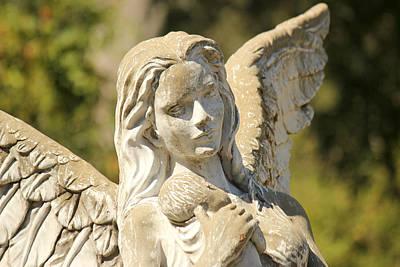 Angel In Mississippi Poster by Lynn Jordan