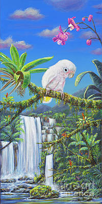 Angel In Paradise Poster by Danielle Perry