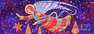 Angel Poster by Jane Tattersfield