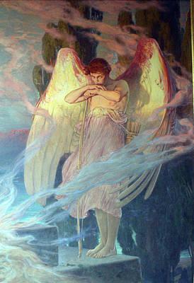 Angel Poster by Julius Kronberg