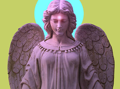 Angel Of Devotion No. 04 Poster by Ramon Labusch