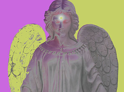 Angel Of Devotion No. 07 Poster by Ramon Labusch