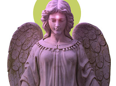 Angel Of Devotion No. 08 Poster by Ramon Labusch