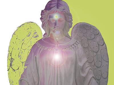 Angel Of Devotion No. 09 Poster by Ramon Labusch