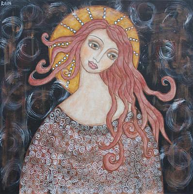 Angel Of Grace Poster by Rain Ririn