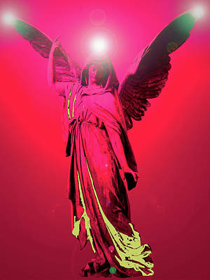 Angel Of Harmony No. 04 Poster by Ramon Labusch