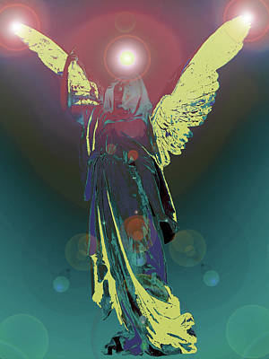 Angel Of Harmony No. 06 Poster by Ramon Labusch