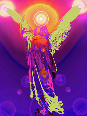 Angel Of Harmony No. 10 Poster by Ramon Labusch
