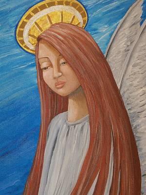 Angel Of Sorrow Poster by Jacklyn Marie Adelfio