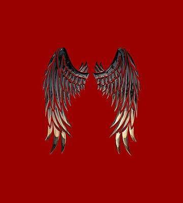 Angel Wings Poster by Cco