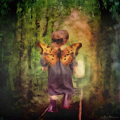 Angel Wings Poster by Lisa Noneman