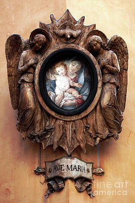 Angels Watching Over Poster by John Rizzuto