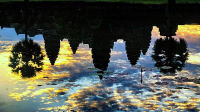 Angkor Reflections Poster