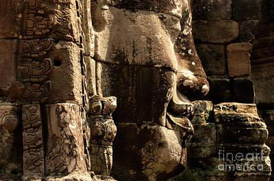 Angkor Wat Banyon Cambodia 2 Poster by Bob Christopher