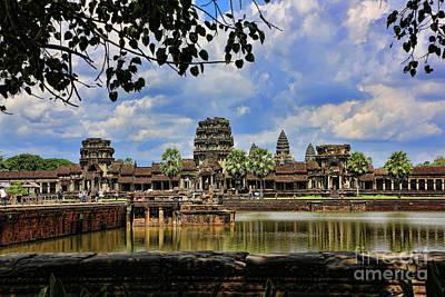 Angkor Wat Panorama  Poster