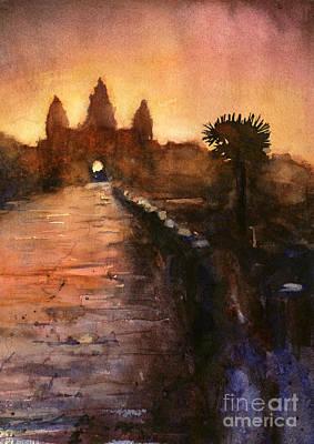 Angkor Wat Sunrise 2 Poster