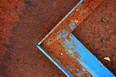 Angle Iron...raw Steel Poster