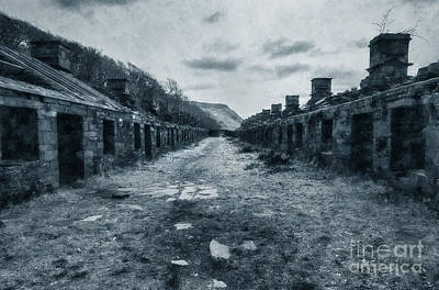 Anglesey Barracks Poster by Ian Mitchell