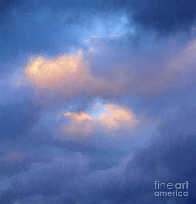 Angry Sky Over The Adirondacks Poster by George Robinson