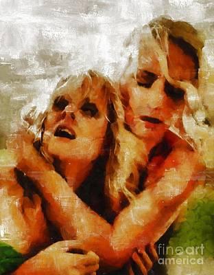 Anguish By Mary Bassett Poster by Mary Bassett