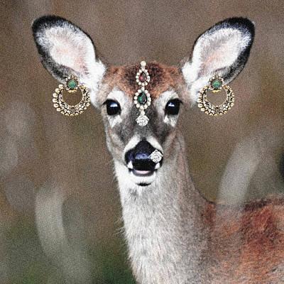 Animal Royalty 10 Poster by Sumit Mehndiratta