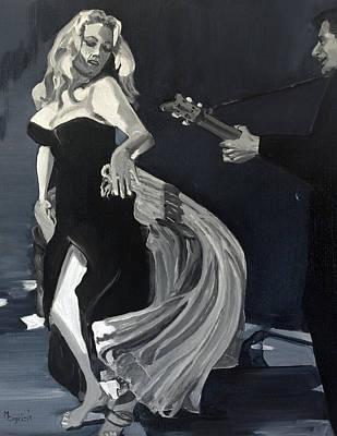 Anita Dancing Barefoot Poster