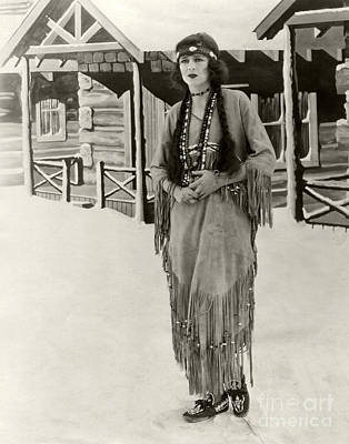 Anita Stewart 1925 Poster by Sad Hill - Bizarre Los Angeles Archive