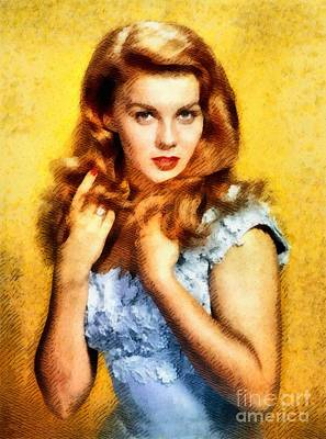 Ann-margert, Vintage Hollywood Actress Poster by John Springfield