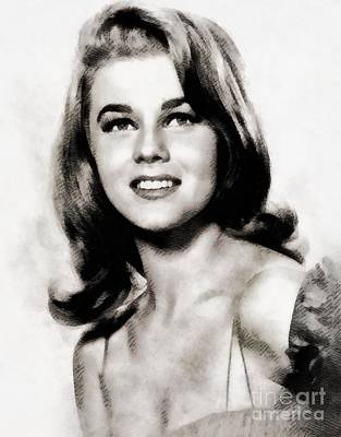 Ann-margret, Vintage Actress By John Springfield Poster by John Springfield
