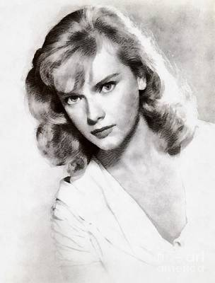 Anne Francis, Vintage Actress Poster