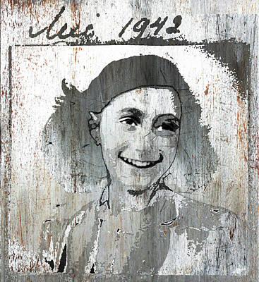 Anne Frank 2 Poster by Tony Rubino