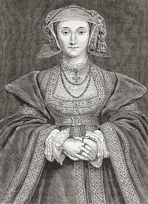 Anne Of Cleves, 1515 Poster by Vintage Design Pics