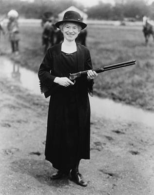 Annie Oakley 1860-1926, In 1922 Poster by Everett