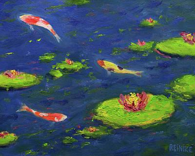 Ann's Pond V Poster by Vernon Reinike