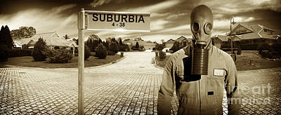 Another Day In Suburbia Poster