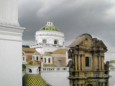 Another Quito Ecuador View Poster