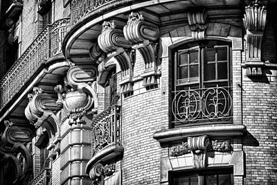 Ansonia Building Detail 36 Poster by Val Black Russian Tourchin