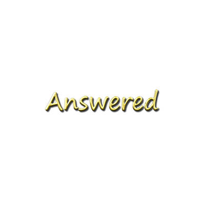 Answered Poster