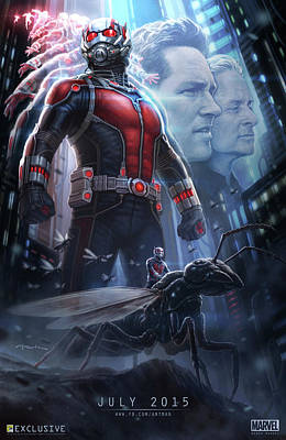 Ant Man 2015 Poster by Unknown