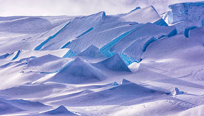 Antarctic Landscapes  Poster