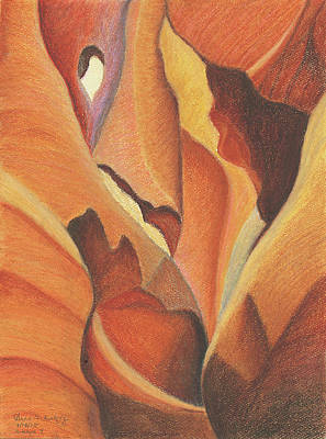 Antelope Canyon 4 - For Gloria Poster