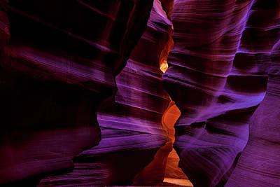 Antelope Canyon Glow Poster